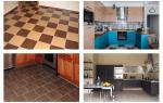 Напольная плитка для кухни: варианты, особенности укладки