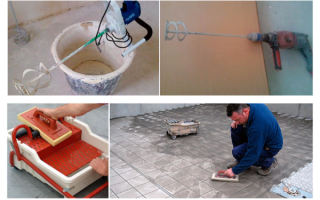 Инструменты плиточника: от укладки до затирки своими руками