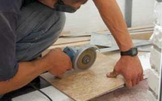 Как резать плитку болгаркой без сколов: практика метода