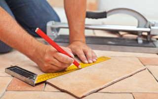 Как резать напольную плитку в домашних условиях: способы