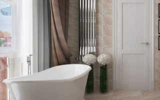 Дизайн: элегантный вариант для ванной комнаты
