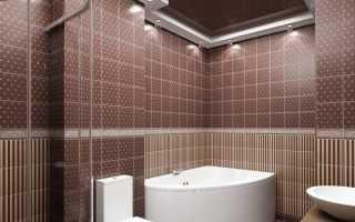 Размеры плитки для ванной комнаты: практика подбора