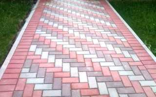 Как положить тротуарную плитку на даче своими руками