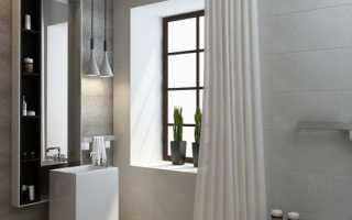 Дизайн: геометрически четкий интерьер санузла