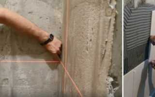 Укладка плитки на неровную стену: особенности и нюансы