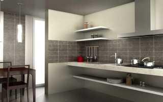 Фартук на кухне из плитки: как сделать своими руками?