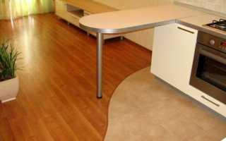 Как состыковать плитку и ламинат: стыковка по шагам