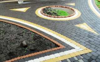 Укладка тротуарной плитки своими руками: технология