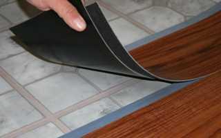 Укладка ПВХ плитки на пол: как клеить виниловую плитку
