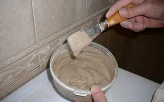 Как приготовить затирку для плитки своими руками