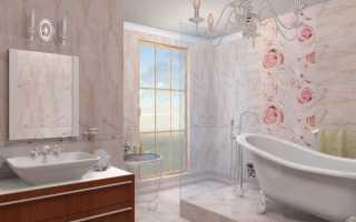 Как красиво выложить плитку в ванной: варианты выкладки