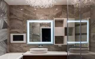 Дизайн ванной комнаты: лаконичность стиля ар-деко