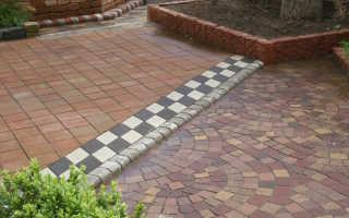 Формы для тротуарной плитки своими руками: как сделать