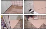 Диагональная укладка плитки на пол в ванной: монтаж