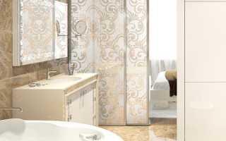 Шикарный дизайн ванной комнаты