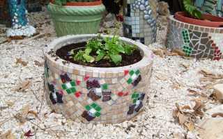 Как выложить мозаику из битой плитки своими руками: основы