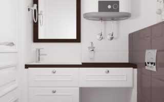 Дизайн: темно-коричневый и белый в интерьере