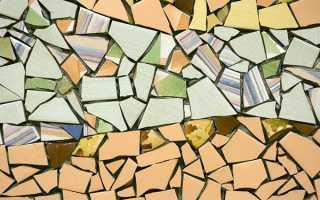 Мозаика из битой плитки: как сделать своими руками, укладка и уход