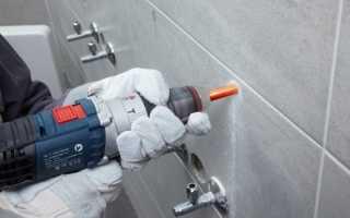Чем просверлить керамогранитную плитку: инструкция