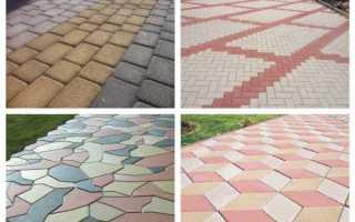 Состав бетона для тротуарной плитки: практика