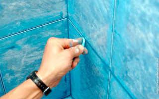 Как затирать швы на плитке правильно