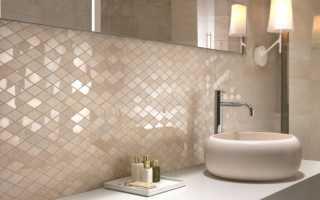 Мозаика в интерьере ванной и кухни: варианты дизайна
