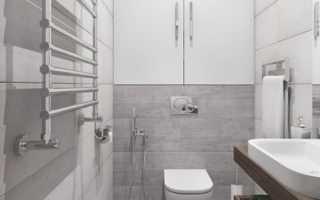 Дизайн: минималистическая ванная комната