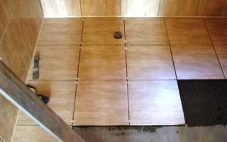 Укладка плитки в ванной на пол: основные этапы