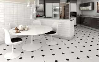 Как выбрать плитку для кухни на пол, какую лучше?