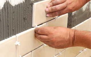 Как приклеить плитку на гипсокартон