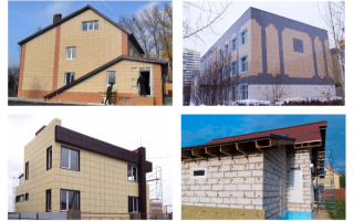Фасадный керамогранит: особенности и техника монтажа
