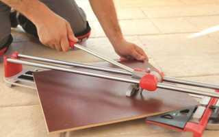 Ручной или электрический плиткорез: какой лучше?