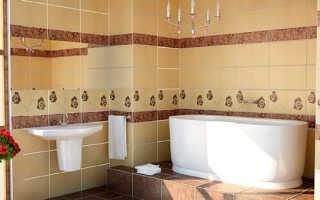 Как подобрать плитку для ванной и кафель