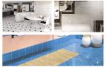 Способы укладки плитки в ванной комнате: эффектные варианты