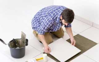 Как положить плитку на кухне на пол: пошаговый план