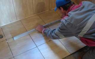 Технология укладки напольной плитки: правила