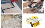 Электрический плиткорез: советы по выбору инструмента
