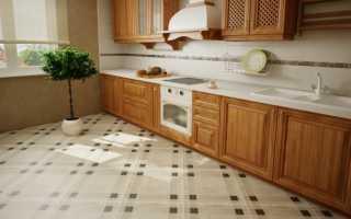 Плитка для кухни на пол: какую лучше выбрать