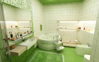 Чистка плитки в ванной: чем почистить?