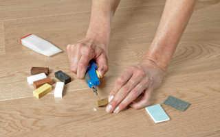 Как восстановить поврежденный ламинат