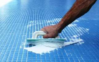 Затирка для швов плитки в бассейне: виды, обзор, выбор
