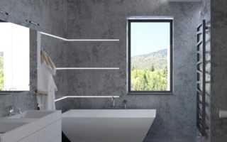 Дизайн: ванная комната в граните