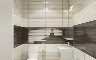Дизайн: горизонтально-уложенная плитка в интерьере