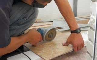 Резка кафеля в домашних условиях различными инструментами