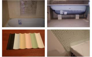 Керамический уголок для ванной: от выбора до укладки