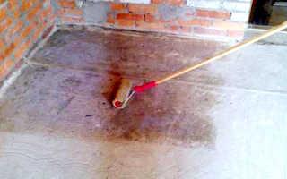 Грунтовка стен перед укладкой плитки и пола