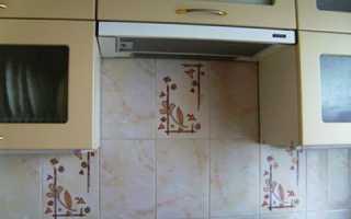 Как обновить кафельную плитку на кухне старую