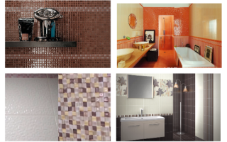 Как выбрать керамическую плитку для ванной: особенности