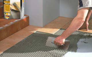 Толщина плиточного клея: максимальная и минимальная