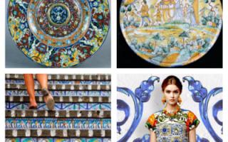 Плитка майолика: производство, секреты дизайнеров